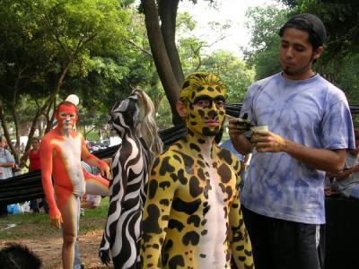 Imágenes de la Compañía 3/ Día de la danza, parque Cuscatlán