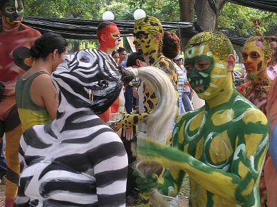 Imágenes de la Compañía 4/ en el parque cuscatlán