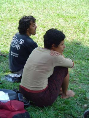 Imágenes de la Compañía 7/ Clase Erick en parque cuscatlán